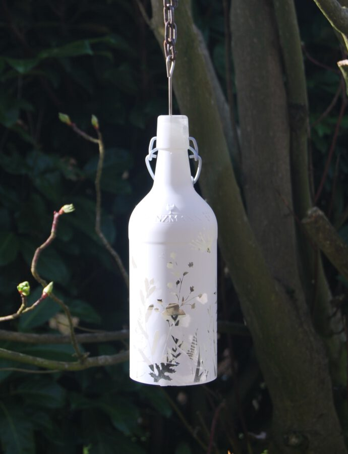 DIY Flaschen-Windlicht